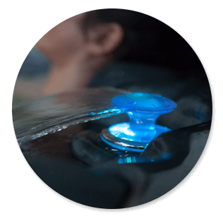 Massage / Chauffage et Filtration