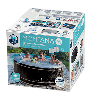 Montana 6 persons packaging